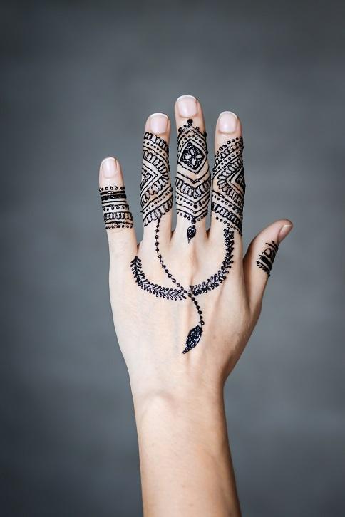 New Simple Mehndi Design Image Photo Download