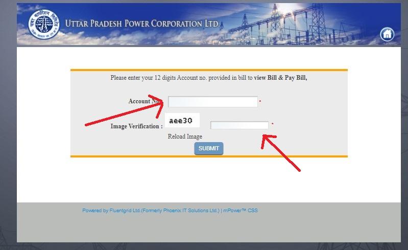 बिजली का बिल चेक ऑनलाइन up, बिजली बिल चेक उत्तर प्रदेश